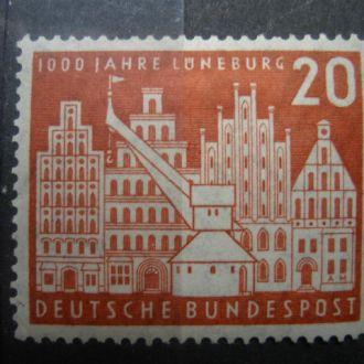ФРГ.1956г. Архитектура. Полная серия. MН. КЦ. 10,00 евро