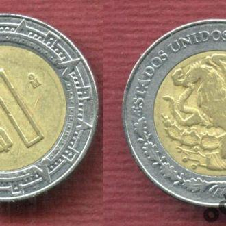 Мексика 1 песо 1994 №2