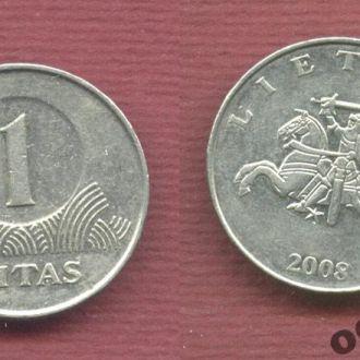 Литва 1 лит 2002 №3