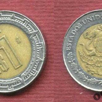 Мексика 1 песо 1993