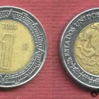 Мексика 1 песо 2004