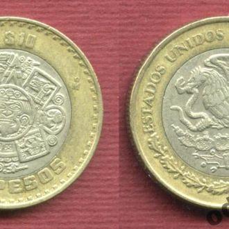Мексика 10 песо 2005