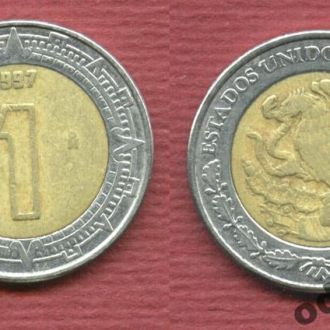 Мексика 1 песо 1997