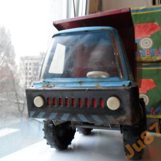 Самосвал грузовик жесть СССР игрушка, коробка