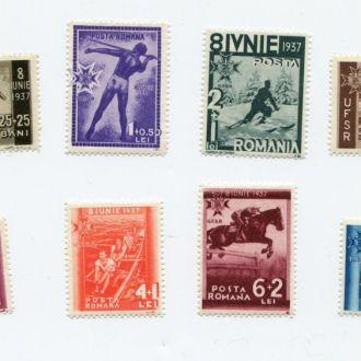 РУМЫНИЯ 1937 СПОРТ ФУТБОЛ