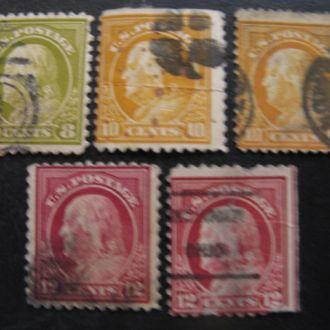 США 1914  1915 СТАНДАРТЫ