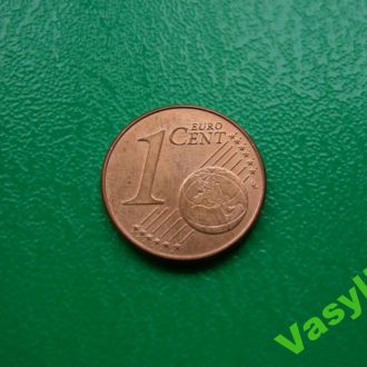 Австрия 1 евро цент 2011 г. UNC!