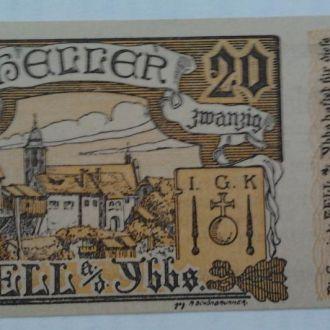 Нотгельд Австрия  ZELL ab JBBS