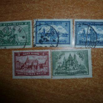 Рейх. 2 Полные серии 1927 и 1930г. №364-7 и №440*