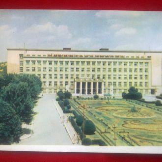 УЖГОРОД ЦЕНТРАЛЬНАЯ ПЛОЩАДЬ 1962 ТИРАЖ 100 000