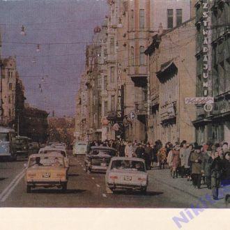 1976. Латвийская ССР. Улица Ленина.