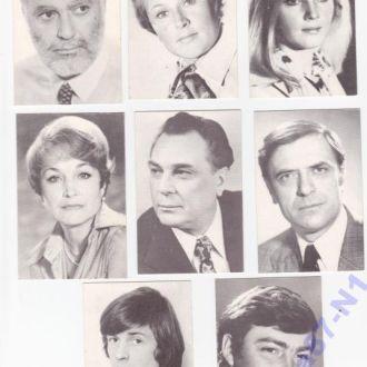 Артисты советского кино. 8 фото.