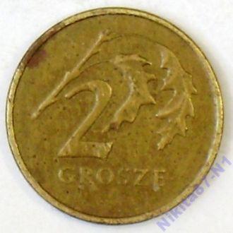2 гроша 1999 г. Польша
