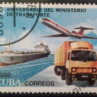 марки Куба техника корабль грузовик с 1 гривны