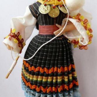 Лялька Кукла в национальном костюме 18см