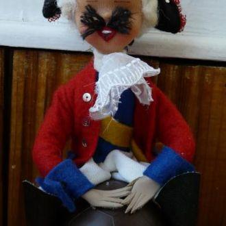 Кукла 18см Барон Мюнхаузен