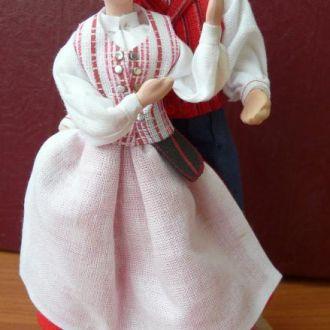 Кукла в национальном костюме Польша 13,5см
