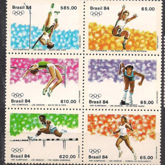 Бразилия**,1984г.,спорт,23-е  Олимпийские игры