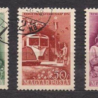 Венгрия1951г. Международный год ребенка