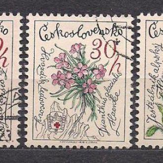 Чехия,1979г.,флора