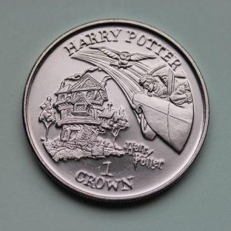 Остров Мэн, 1 крона 2002 год !