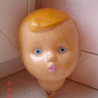 Игрушка кукла голова целлулоид СССР