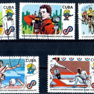 Куба. Спорт 1989 г.