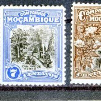 Мозамбик. Серия №2  (без 1 м.)* 1923
