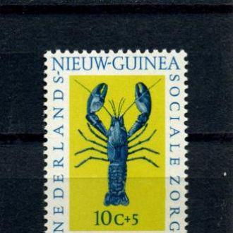 Новая Гвинея.  Морские животные** 1962