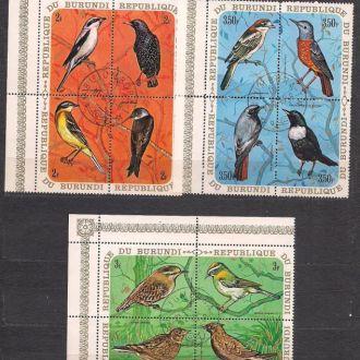 Бурунди,1970 г., фауна, певчие птицы