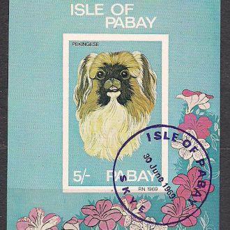 Острова Пебей, 1972г., фауна,  собаки