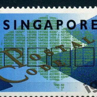 Сингапур. 2 $ ** 1995