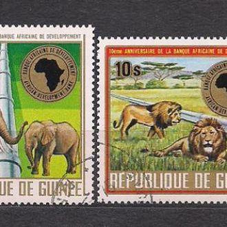 Гвинея, 1975г., фауна
