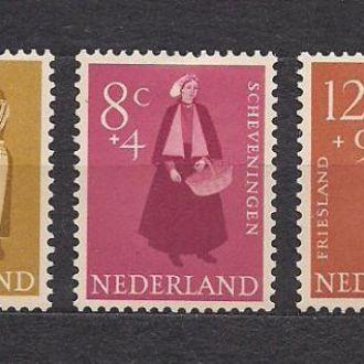 Нидерланды*, 1958г., национальная одежда