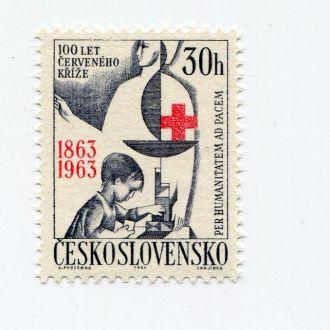 ЧЕХОСЛОВАКИЯ 1963 ** МЕДИЦИНА ДЕТИ КРАСНЫЙ КРЕСТ
