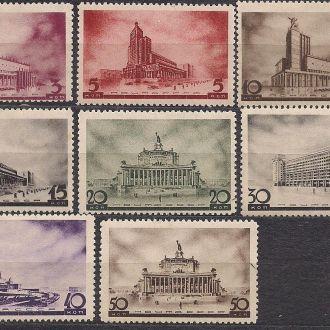 СССР**,1937г., архитектура новой Москвы