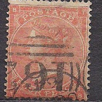 Великобритания,1855г., стандартный выпуск