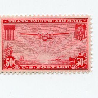 США 1937 АВИАЦИЯ САМОЛЕТ ТРАНСПОРТ