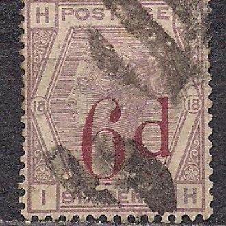 Великобритания,1883г., стандартный выпуск
