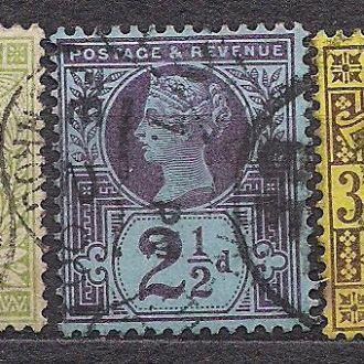 Великобритания,1887г., стандартный выпуск