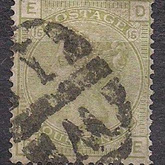 Великобритания,1877г., стандартный выпуск