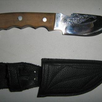 Нож туристический ,ручная работа.
