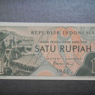 Индонезия 1  рупия / Rupiah 1960 UNC