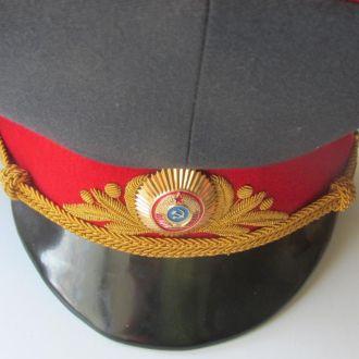 Фуражка генерала МВД СССР .