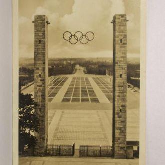 Имперский стадион, олимпиада, Рейх, Германия 1936г