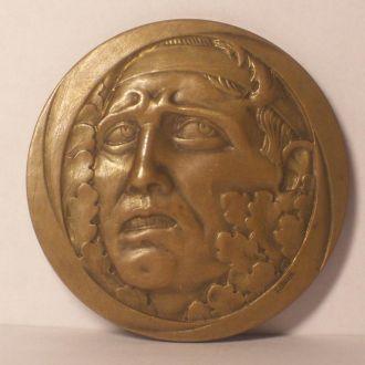 Медаль,спортивного судьи, арт-деко 1932г.