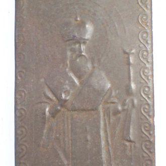св. Василий,монастырская иконка, Киев,Украина 1890
