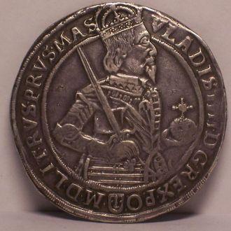 Талер коронный, Владислав IV, Польша, Россия 1635