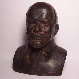 Ленин В.И., бюст, г. Куса, СССР 1978 г.