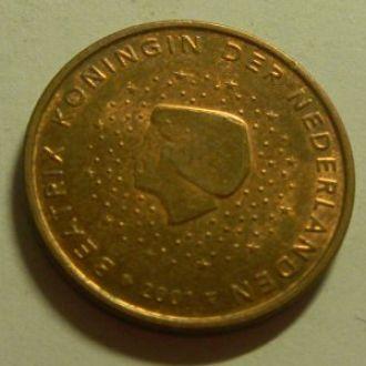 5 евроцентов 2001 Голландия